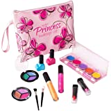 My First Princess Washable Make Up Set - 12 Pc Kids Makeup Set - Pretend Makeup For Girls - Makeup Toys for Girls - Comes wit