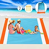 Aitey Sand Free Beach Blanket, Waterproof Beach Mat Compact Outdoor Blanket Ideal for Picnic, Travel, Hiking, Camping and Mus