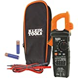 Digital Clamp Meter AC Auto-Ranging 600A, (TRMS) technology for increased accuracy, Klein Tools CL600