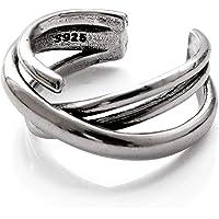 [SEIYA INTERNATIONAL] 指輪 メンズ リング シルバーリング シルバー925 フリーサイズ (3連リ…