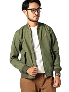 Fred Perry x Beams Bomber Jacket 11-18-2366-060: Olive