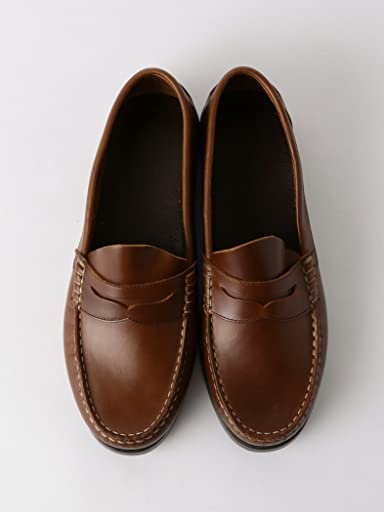 Boat Sole Beefroll Penny Loafer 3231-499-1613: Dark Brown