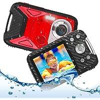 キッズカメラ 子供用 デジタルカメラ 防水 デジカメ 1080P コンパクトカメラ 2.8インチ 子供プレゼント 8倍ズ…