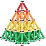 WITKA 230 Pieces Magnetic Building Sticks Blocks Toy Brain Training STEM Toys Intelligence Learning Games Set Gift for Kids…