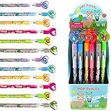 24 Pcs Llamas Multi Point Pencils