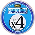 DUEL(デュエル) HARDCORE(ハードコア) PEライン HARDCORE X4 0.4号~4.0号 マーキングシステム/10m×5色 H3278
