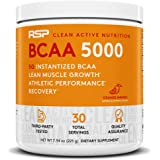 RSP NUTRITION BCAA 5000, BCAA Powder For Post Workout Muscle Recovery, Endurance & Energy, 5G Of Essential Branched Chain Ami