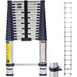 Xtend & Climb 2020 Pro Series 785P+ Tallest Telescoping Ladder, Integrated Carrying Handle, Double Overmolded Feet, Grade Alu