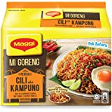 Maggi Mi Goreng Chilli Ala Kampung Flavour (Dry), 5 Count