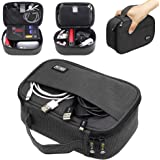 Sisma Travel Cables Organiser Carrying Case for Power Cords Phone Battery Chargers Earbuds Hard Drives Memory Cards Adapter M