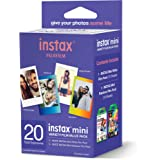 Fujifilm Instax Mini VARIETY Film Value Pack 20 COUNT