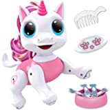 Power Your Fun Robo Pets Unicorn Toy for Girls and Boys - Remote Control Robot Pet Toy with Interactive Hand Motion Gestures,