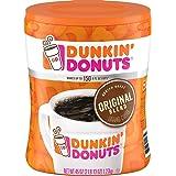 Dunkin' Donuts ダンキンドーナツ グラウンドコーヒー(挽き豆) [オリジナルブレンド] ミディアムロースト 1.27kg(45oz) / Original Blend Ground Coffee, Medium Roast [海外直送品