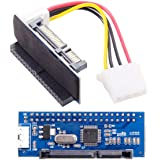 "CY IDE/PATA 40Pin Disk to SATA Female Adapter PCBA Converter for Desktop & 3.5"" Hard Disk Drive"