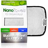 Nano Towels Stainless Steel Cleaner | The Amazing Chemical Free Stainless Steel Cleaning Reusable Wipe Cloth | Kid & Pet Safe