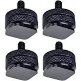 "Neewer Four(4) Pack of Durable Pro 1/4"" Mount Adapter for Tripod Screw to Flash Hot Shoe"