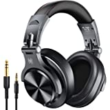 OneOdio Over Ear DJ headphones, Wireless Bluetooth Stereo Headphones for Studio & Recording, Wired Headphones with Share port