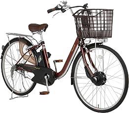 Raychell(レイチェル) 26インチ 電動自転車 FT-263R-EA 3段変速 グリップシフト 4灯フロントLEDライト ブラウン [メーカー保証1年]