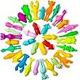 36 Pieces Finger Slingshot Animal Toys Animal Slingshots Stretchable Funny Finger Animal Slingshot Toys Great for Flying Game