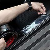 ドアガード プロテクターモール カーボンモールゴム トリムモール ユニバーサル トランク 耐水性 リップモール バンパー…