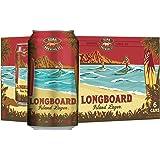 Kona Longboard Hawaiian Lager Can, 355ml (Pack of 6)
