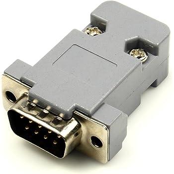 極小RS232-TTLコンバータモジュール- Dサブ9ピンオスコネクタ(ケースキット付き)