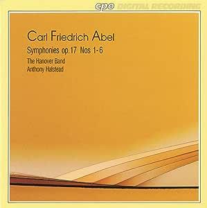 アーベル:交響曲Op.17 No.1-6