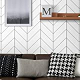 17.71In x 118In Light Grey Wallpaper Peel and Stick Paper Matte Surface Double-Sided Removable Self-Adhesive Wallpaper Easy t