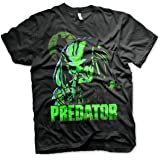 Officially Licensed Predator Mens T-Shirt (Black)