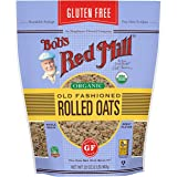 Bob's Red Mill Bob's Red Mill Organic Pure Wheat Free Rolled Oats 907 g, 907 g, No Flavour Available (1992S32)