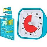 Time Timer MOD Sprint Edition — 60 Minute Visual Timer — for Kids Classroom Learning, Homeschool Tool, Teachers Desk Clock an