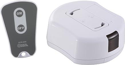 天井照明器具専用 リモコンスイッチ [品番]07-8250 OCR-04W