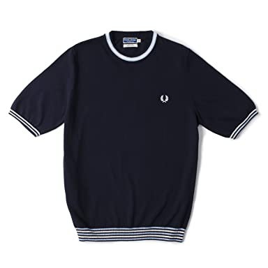 Laurel Wreath Collection Knit Ted Tipped T-Shirt K6153: Navy