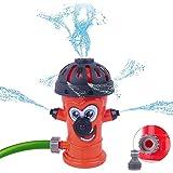 Water Sprinkler Toy for Kids, Outdoor Water Hose Turtle Sprinkler Toy for Backyard Yard Lawn - Splashing Fun for Summer Days