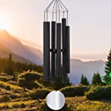 ASTARIN Wind Chimes Outdoor Deep Tone,36Inch Large Sympathy Wind Chimes Amazing Grace Tuned Relaxing Soothing Low Bass,Memori
