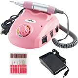 Fainy 30000RPM Pro Electric Nail Drill Machine Finger Toe Nail Care Pedicure Manicure Kits File Drill Bits Sanding Band with