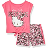 Hello Kitty Girls Sleeve Short Set