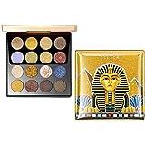 ZEESEA(ズーシー) 大英博物館 エジプトシリーズ アイシャドウパレット(16色)アイシャドウ (#01 サンド)