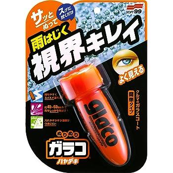 ソフト99(SOFT99) ガラスコーティング剤 ぬりぬりガラコ ハヤデキ 75ml 04951