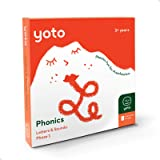Yoto Phonics Letters and Sounds Pack – Kids Audio Activity Cards for Yoto Player Children's Speaker| 7 Learning Cards