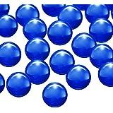 4 Pieces Sapphire Pearls Balls Insert Handmade Pearls Quartz Balls for Women DIY Jewelry Bracelets Pendants Making Supplies,