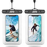 [2 Pack]JOTO Floating Waterproof Phone Pouch, Universal Waterproof Case Underwater Dry Bag for iPhone 13 12 11 Pro Max, Mini,