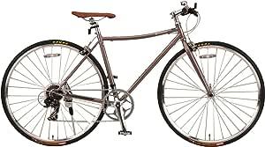 ジェフリーズ クロスバイク Morris 700x28C 軽量 Rose Taupe ローズトープ シマノ7段変速/軽量フレーム DP780/キックスタンド 標準装備