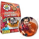 Ryan's World Glitter Slime Baff Orange, 1 Bath Pack, Children's Sensory & Bath Toy, Certified Biodegradable Toy
