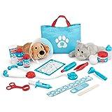 メリッサ&ダグ(Melissa&Doug) 動物のお医者さん ドクターセット 獣医 ごっこ遊び おもちゃ 8520 正規品