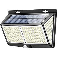 【最新版288LED】センサーライト ソーラーライト 3つ知能モード Focondot 4面発光 人感センサー 屋外照明…