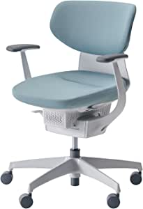 コクヨ イング イス アッシュターコイズ クッションタイプ デスクチェア 事務椅子 座面が360°動く椅子 CR-GW3201E1G439-VN 【ラクラク納品サービス】
