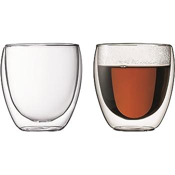 【正規品】 BODUM ボダム PAVINA ダブルウォールグラス 250ml (2個セット) 4558-10J