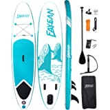 FAYEAN Stand Up Paddle Board 10'x28 x6 Round Board Include Hand Pump, Paddle, Backpack, Coil Leash,Carry Bag, Repair Kit and