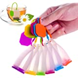 ME.FAN™ Silicone Reusable Tea Bag Candy Silicone Tea Infuser Strainer Set - Genuine Premium Loose Leaf Infuser Set In Bright